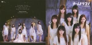 "AKB48 Team Dragon ""Kokoro no hane"" (jacket scan)"