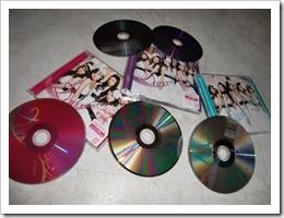 C-ute Dance de bakon! LE types A, B & pv DVD single releases
