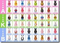AKB48 BE@RBRICK COLLECTION Complete