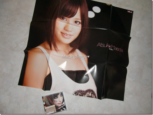 Bomb Niovember 2010 large poster extra (Acchan side)