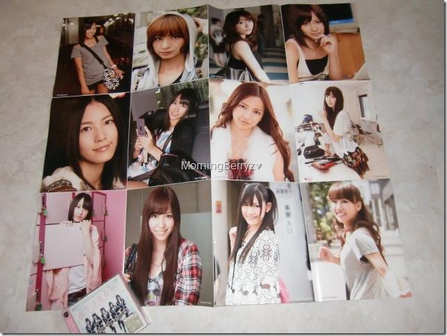 Bomb November 2010 large poster extra (AKB48 group side)