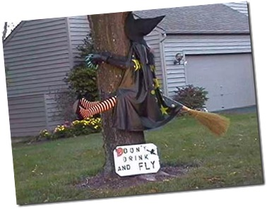 Halloween safety tip #4 Don't drink and fly!