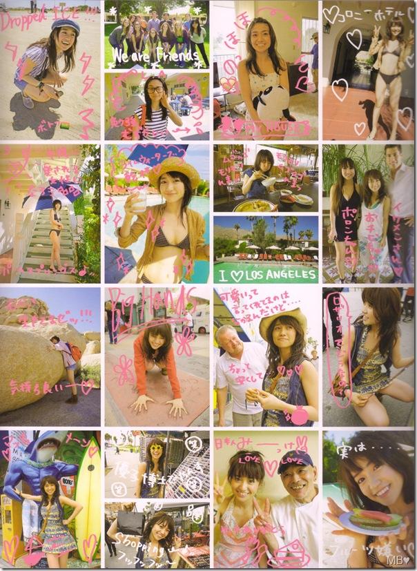 """Oshima Yuko """"Kimi wa, dare no mono"""" shashinshuu back cover (scan0002)"""