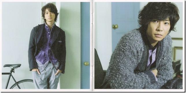 "Arashi ""Hatenai sora"" LE booklet scan4"