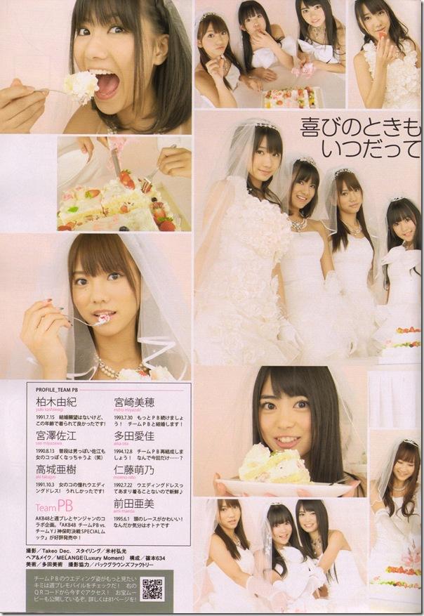 AKB48 in Weekly Playboy 11.30