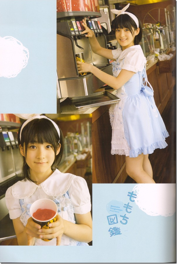 "Tsugunaga Momoko in ""Momochi Zukan"" scan0025"