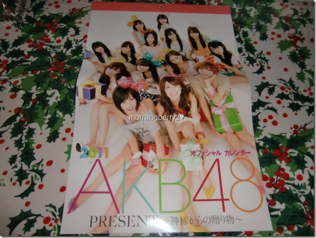 AKB48 2011official calendar box5
