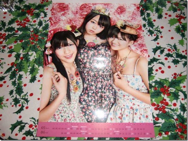 AKB48 2011official calendar box7