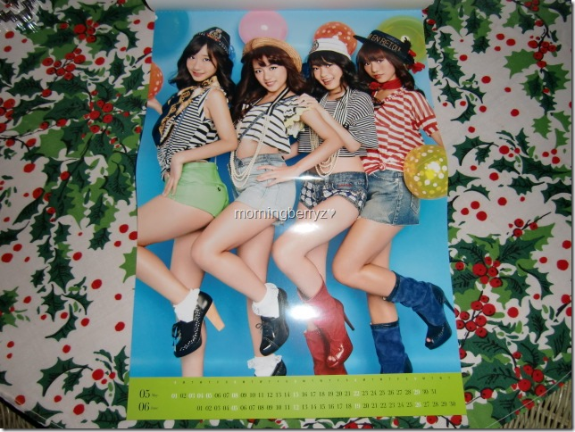 AKB48 2011official calendar box8
