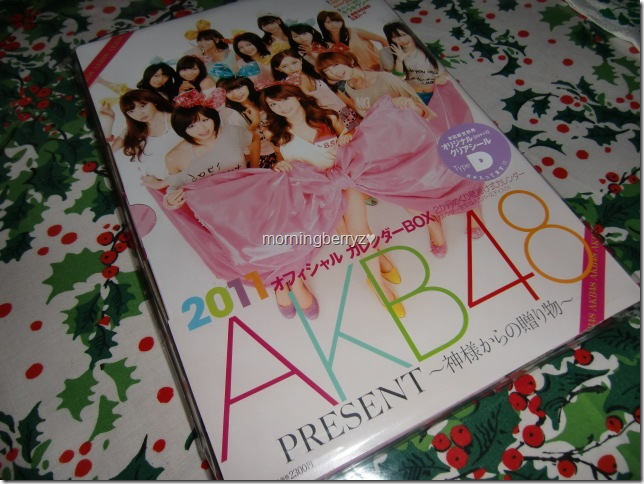 AKB48 2011official calendar box