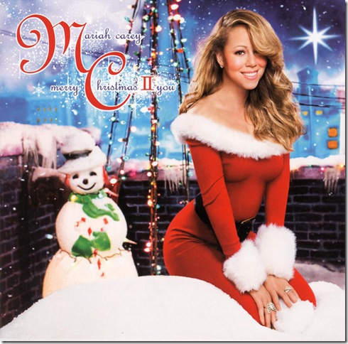 "Mariah Carey ""Merry Christmas to you"""