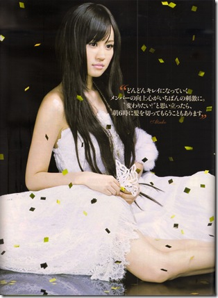 AKB48 in FRAU October 2010