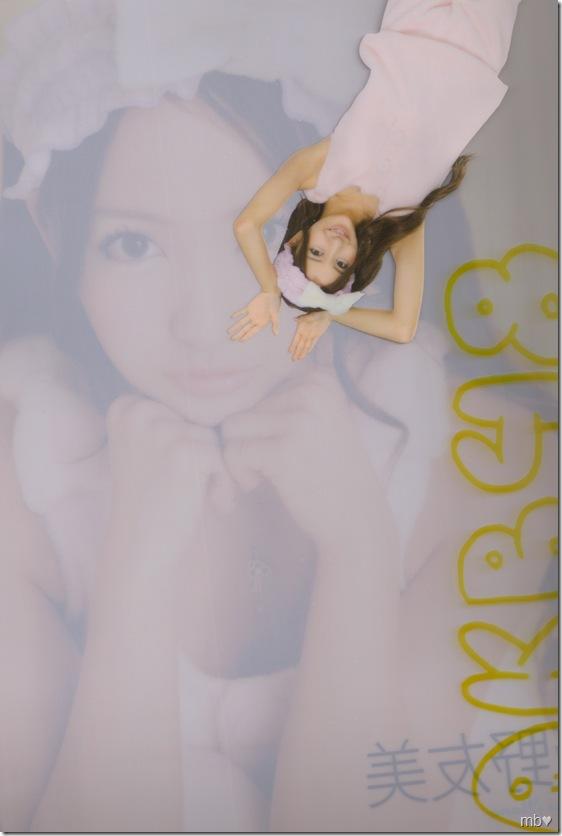 Itano Tomomi 2011 calendar clear file (back)