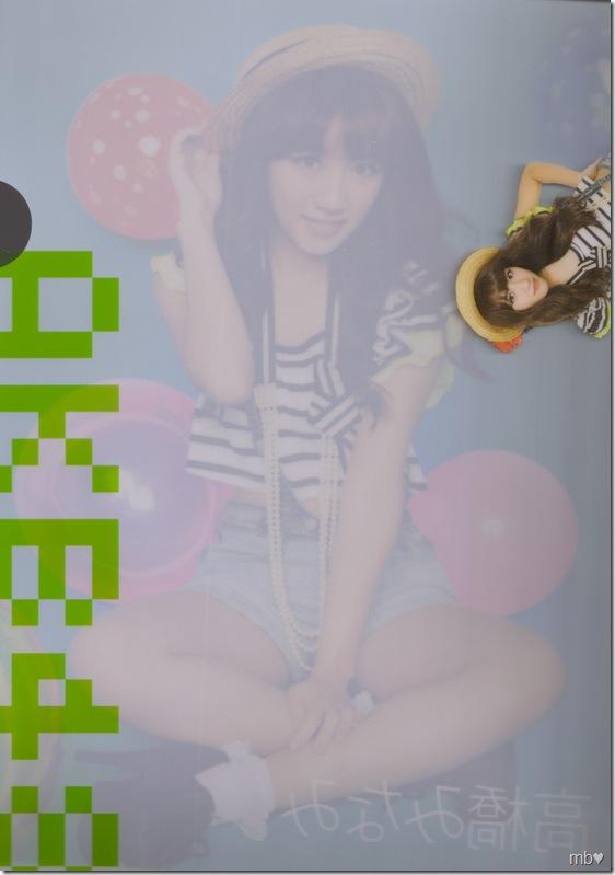 Takahashi Minami 2011 calendar clear file (back)