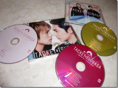 Tackey & Tsubasa Ai wa takaramono LE Type A & Type C singles