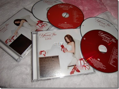 Ito Yuna LOVE Singles Best 2005-2010 LE types A & B with DVD & extra CD editions