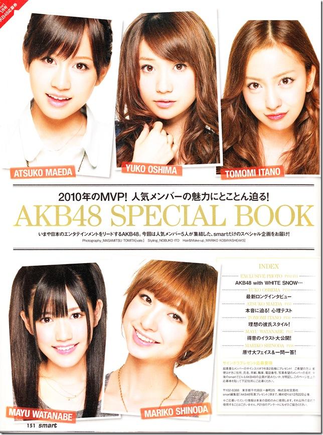AKB48 in smart January 2011 IMG_0009