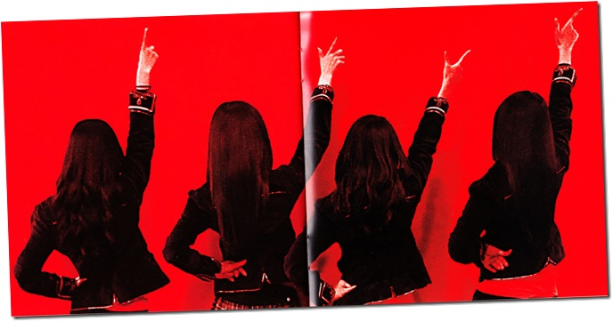 "SCANDAL ""Pride""  (first press) booklet scan6"