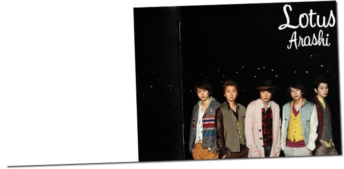 "ARASHI ""Lotus"" LE booklet version (scan)"