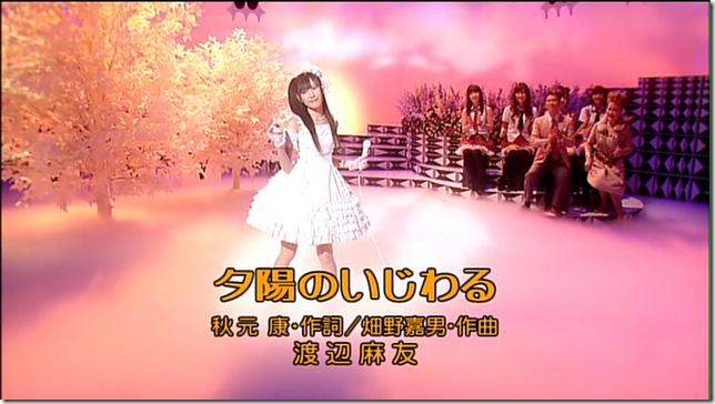 "Mayuyu in ""Yuuhi no ijiwaru"""