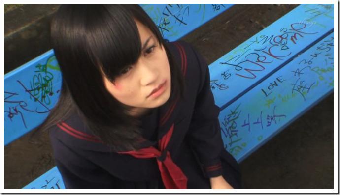 """Maeda Atsuko in """"Majisuka Gakuen""""..."""