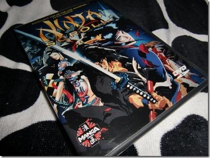 """Ninja Scroll"" DVD"