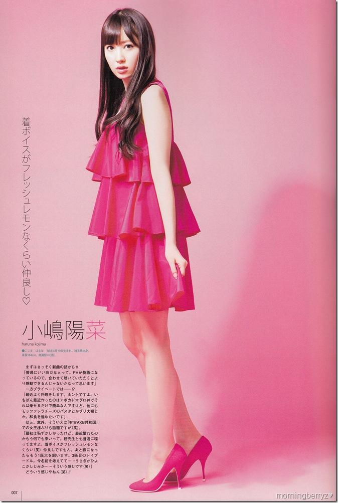 Kojima Haruna in UTB Vol.202 April 2011