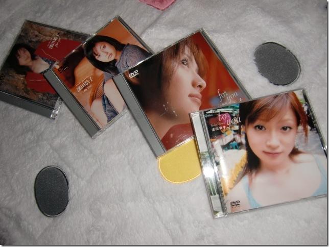my Fukada Kyoko image DVD collection