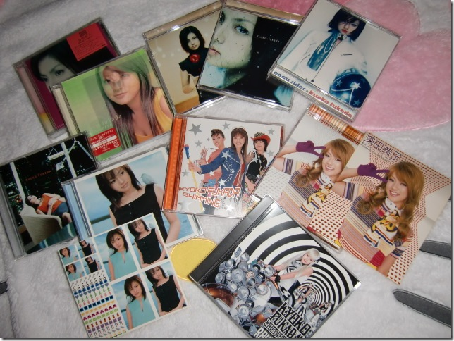 my Fukada Kyoko music collection