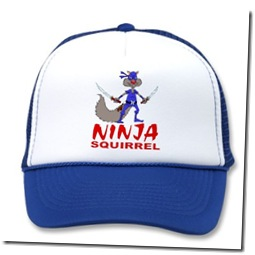 Ninja Squirrel apparel