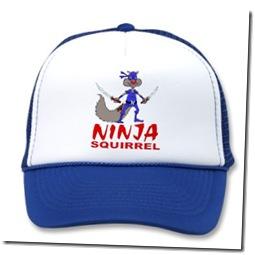 Ninja Squirrel apparel