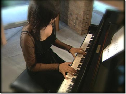 "Fukada Kyoko in ""for me"" (piano solo)"