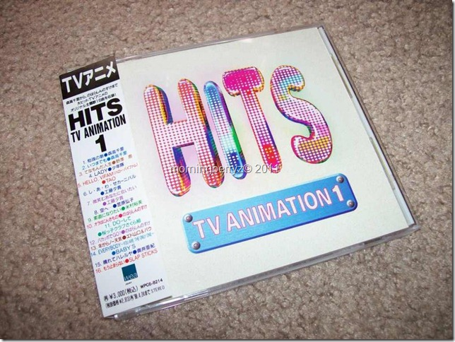"""HITS TV ANIMATION 1″ CD (WPC6-8214)"