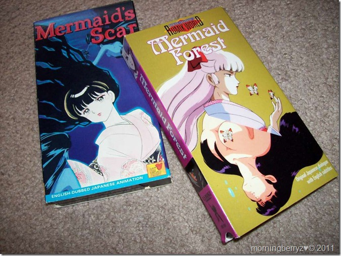 """Mermaid's Scar"" & ""Mermaid Forest"" VHS..."