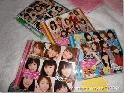 Morning Musume Majidesuka Ska! LE types A, B,C & D