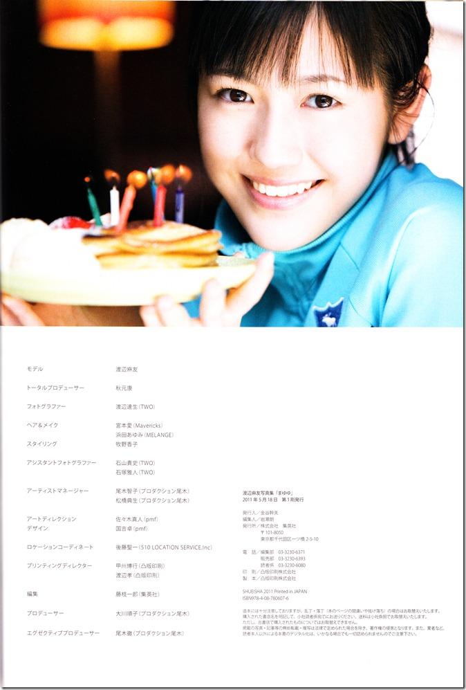 Watanabe Mayu 1st photo book Mayuyu  (89)