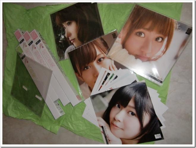 A few AKB48♥ member calendars