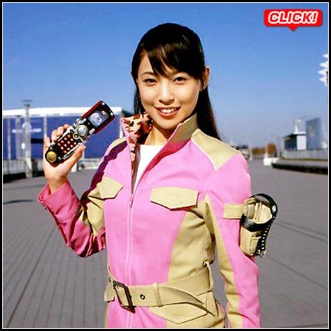 Suenaga Haruka as Bouken Pink