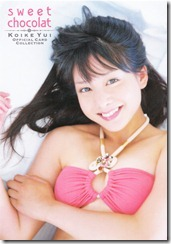 Koike Yui Official Card Collection sweet chocolat (15)
