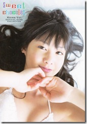 Koike Yui Official Card collection sweet chocolat (19)