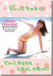 Koike Yui Official Card Collection sweet chocolat (25)