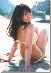 Koike Yui Official Card Collection sweet chocolat (33)