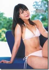 Koike Yui Official Card Collection sweet chocolat (45)