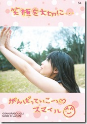 Koike Yui Official Card collection sweet chocolat (58)