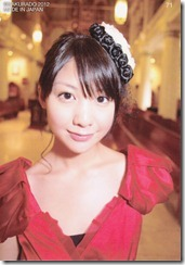 Koike Yui Official Card collection sweet chocolat (92)