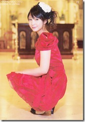 Koike Yui Official Card collection sweet chocolat (94)