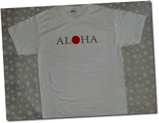 AL♥HA donation T~shirts (front design)