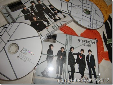 ARASHI Wild at Heart LE & RE singles