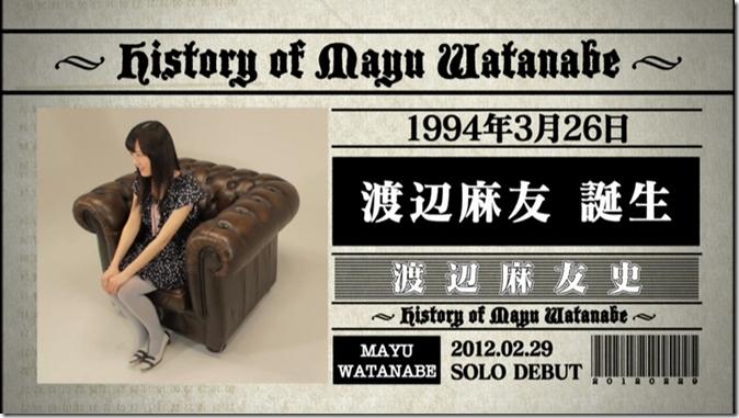 History of Watanabe Mayu (8)