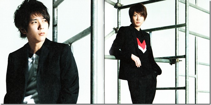 "ARASHI ""Wild at Heart"" LE booklet"
